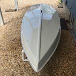 treated boat bottom